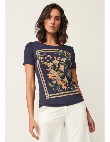 Blusa Realist 922041 Em Viscose Com Estampa Floral