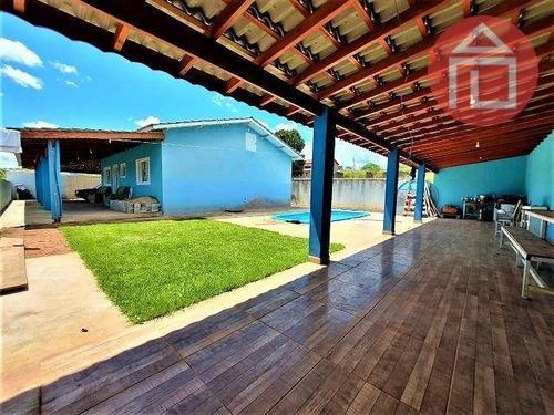 Chácara Com 2 Dormitórios À Venda, 540 M² Por R$ 400.000,00 - Atibaianos - Bragança Paulista/sp - Ch0225