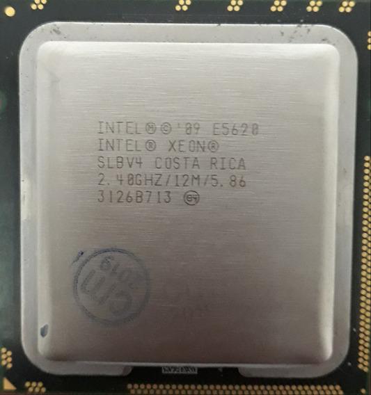 Processador Intel Xeon E5620 4nucleos 2.4ghz 12mb Lga1366