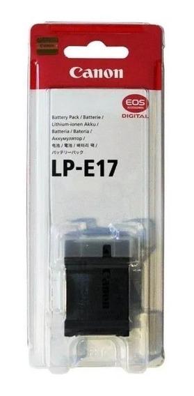 Bateria Canon Lp-e17 Original Nota Fiscal