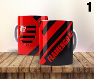 Caneca Personalizada Time De Futebol Flamengo