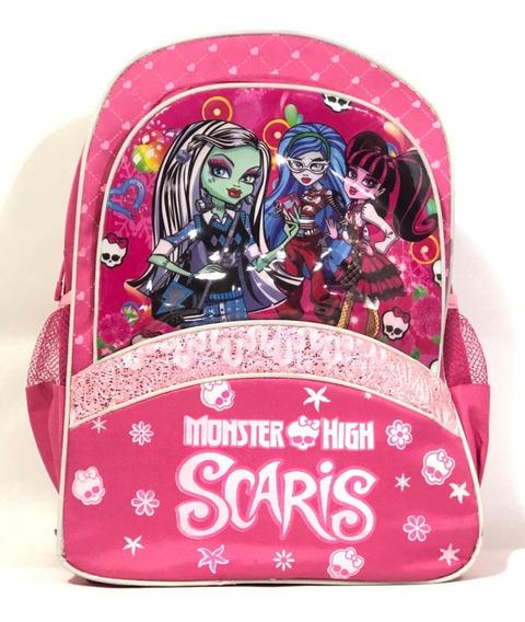 Mochila Infantil Para Niñas Monster High