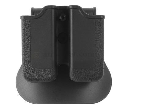 Imagen 1 de 3 de Porta Cargador Para Glock 17 Doble En Polímero Canana