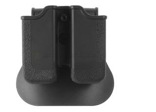 Porta Cargador Para Glock 17 Doble En Polímero Canana