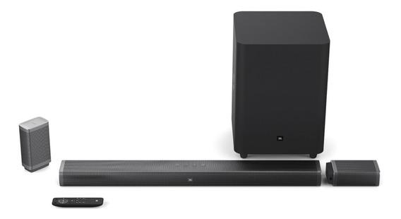 Sound Bar Jbl 5.1 4k Sem Fio Para Tv Smart Cinema Home