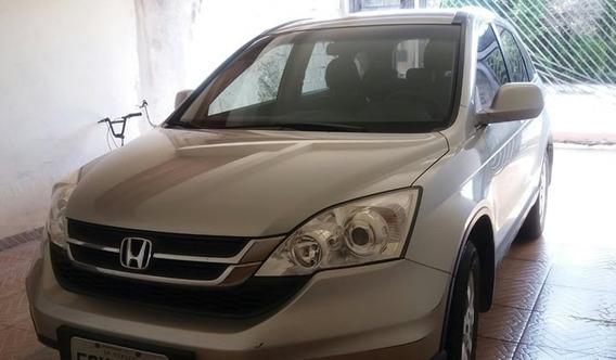 Honda Crv 2010 Automático Cor Prata