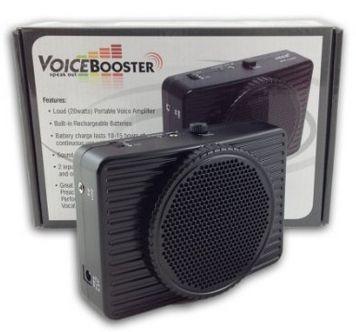 Amplificador D Voz Portatil 20watts Negro Nuevo Envio Gratis