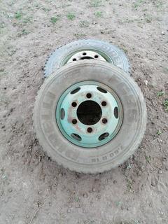 Neumáticos Con Llantas Para Camión