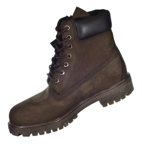 Bota Timberland Yellow Boot 6 Premium Marrom Importado