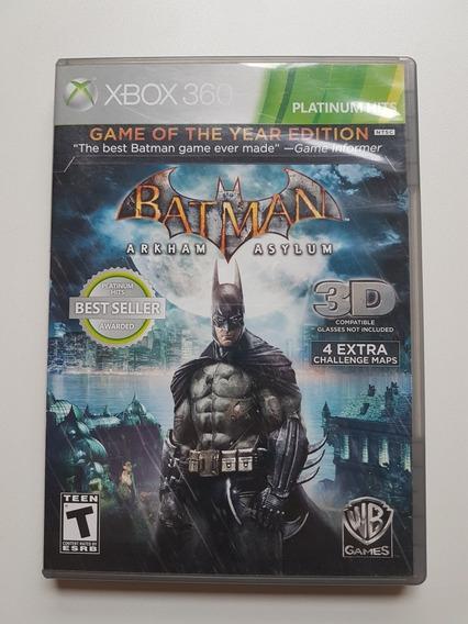 Batman Arkham Asylum Original Para Xbox 360