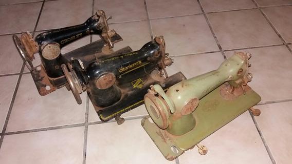 Máquinas De Costura Antiga - Kit C/ 3 Máquinas - 2t7