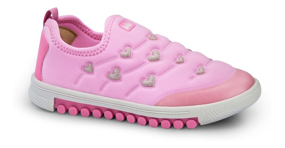 Tênis Infantil Bibi Feminino Rosa Roller New 679512