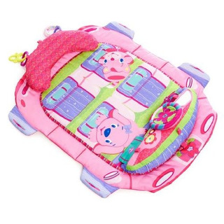 Bright Starts Tummy Cruiser Prop Y Play Mat Pretty In Pink