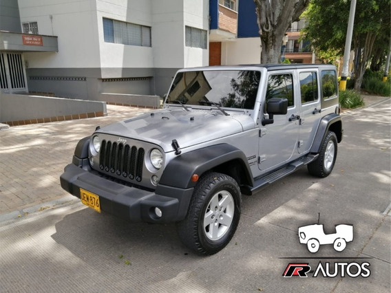 Jeep Wrangler Unlimited A/t 2015