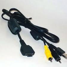Cable Descarga Sony Original Usb Y Rca