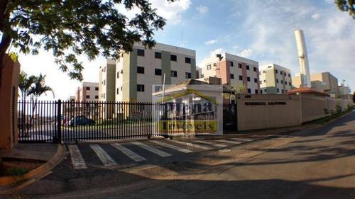 Imagem 1 de 15 de Apartamento Com 2 Dormitórios À Venda, 43 M² - Chácara Bela Vista - Sumaré/sp - Ap1194