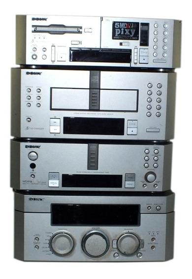 Micro System Sony Md919 Para 5 Cds Sem Caixa De Som A10472