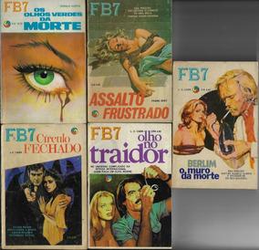 1975/1978 - 5x Livreto De Bolso Série Fb7 Editora Monterrey