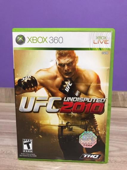 Ufc Undisputed 2010 Xbox 360 Original