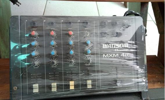 Mesa De Audio Ciclotron Wattson Analógica 4 Canais,top