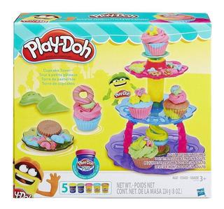 Play Doh Torre De Cupcakes Hasbro. Bambino Jugueteria