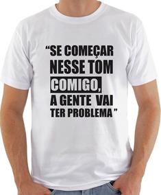 Camiseta Infantil Masculina Frase Michelle Bolsonaro 1052