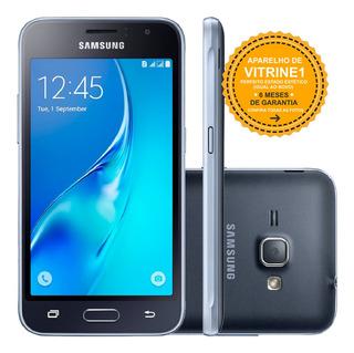 Samsung Galaxy J1 Duos J120h 8gb 3g 5mp Preto Vitrine 1