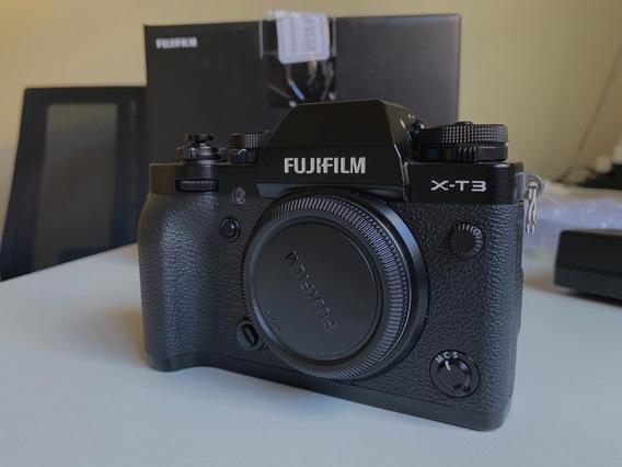 Câmera Fujifilm Fuji X-t3 - Garantia Até Dez 2020