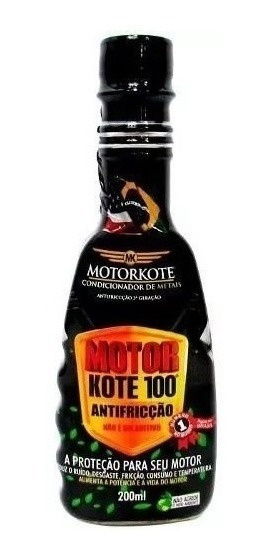 Condicionador De Metais Motorkote 100 200ml Parecido Militec