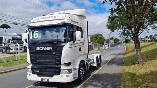 Scania R 440 Streamline 2016 6x2 Trucado Com Retarder