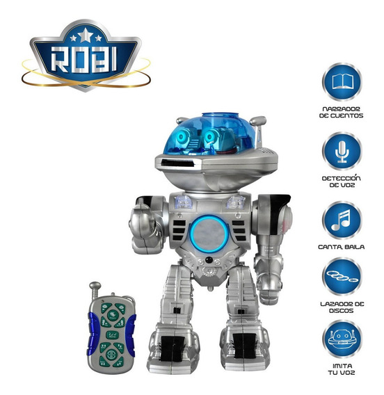 Robot Robi Toy Logic