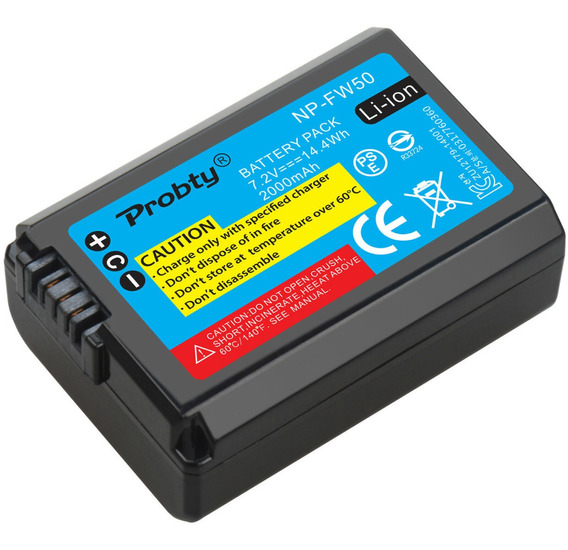 Bateria Sony Alpha A6500 A6000 A7r A9 Nex-3 6300 5100 A7si