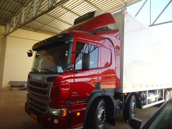 Scania P310-2013-4ºeixo-bau Frigorifico-talismã Caminhões