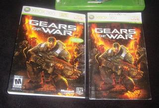 Gears Of War 1solo Portada Y Manual