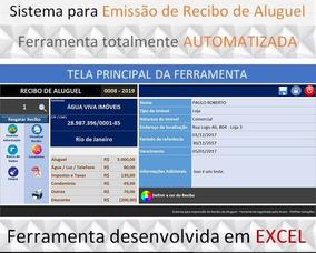 Planilha Para Emissão De Recibo De Aluguel!