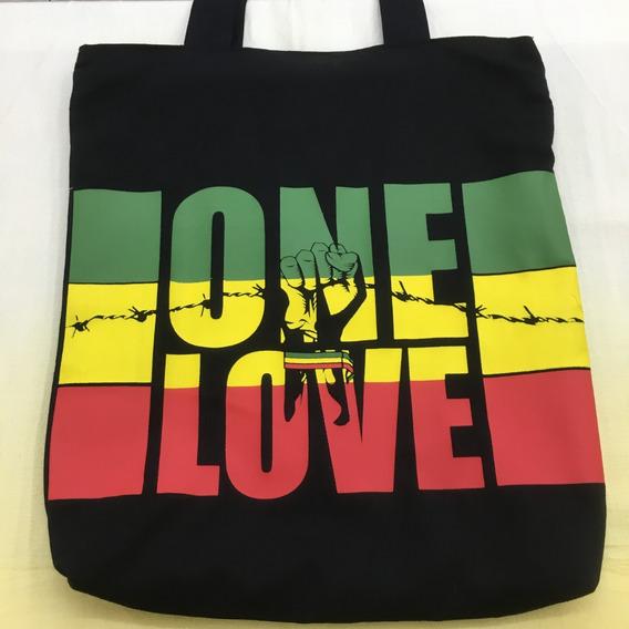 Bolsa Tecido Reggae One Love
