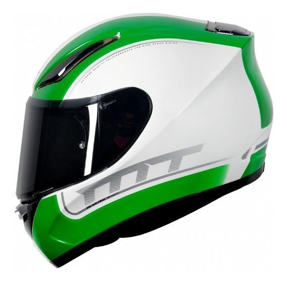Capacete Moto Mt Helmet Revenge Binomy 5 Estrela Sharp + Nfe