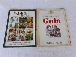 Revista Gula Índice De Receitas 2 Unidades