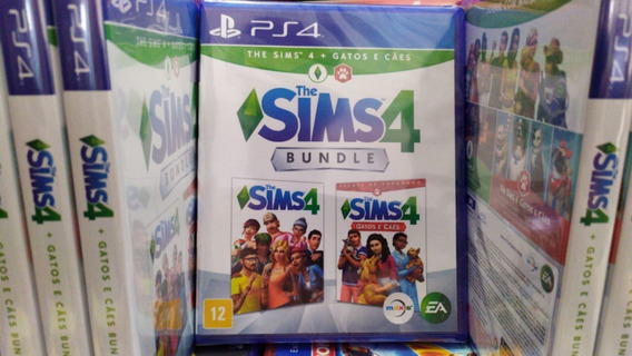 The Sims 4 + Gatos E Caes Ps4 Português Mídia Física Bundle