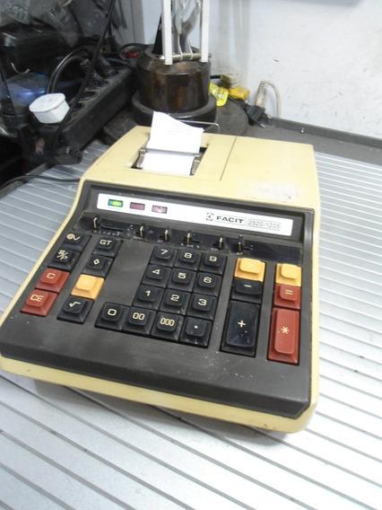 Calculadora De Mesa Facit 2520/1205 - Funcionando