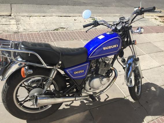 Suzuki Gn125h Año 2013 Km30000