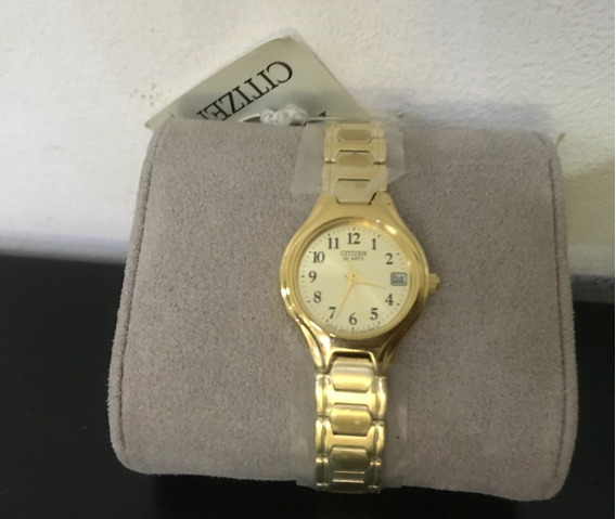 Relógio Citzen Dourado Original