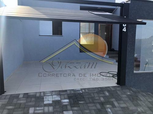 Imagem 1 de 13 de Casa Para Venda Em Bragança Paulista, Villa Verde, 2 Dormitórios, 1 Suíte, 2 Vagas - G0868_2-1191663