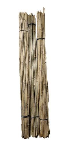 Imagen 1 de 4 de 10 Cañas Tutor 1,5cm X 1,10m Sostén Tallo Plantas Tomatera