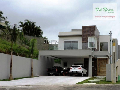 Casa Residencial À Venda, Golf Village, Granja Viana. - Ca0631