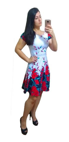Vestido Boneca Princesa Acinturado Moda Evangélica 2323