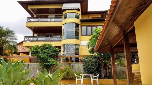 Casa Com 4 Dormitórios À Venda, 453 M² Por R$ 1.590.000,00 - Piratininga - Niterói/rj - Ca0317
