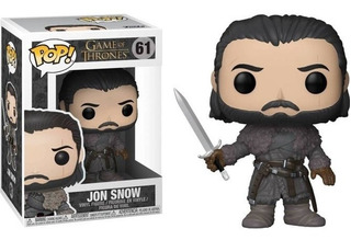 Funko Pop Figura Jon Snow Int 12215 Original Wabro