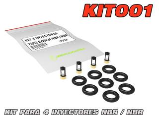 Kit001 Limpieza Inyectores Microfiltros Sello Hyundai Accent