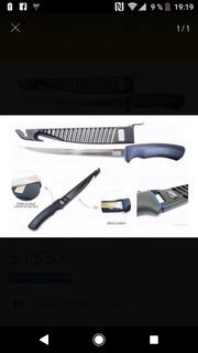 Cuchillo De Filetear 9 Marine SportsHoja De Acero Inoxidab